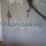 betonvágás panellakásban
